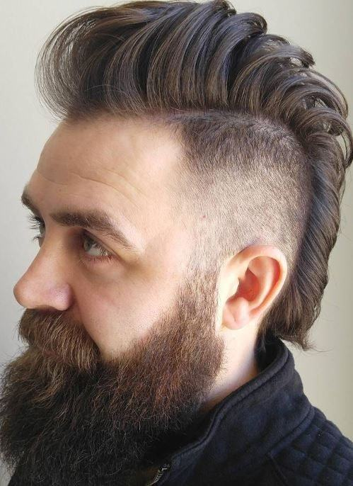 modern mohawk hairstyle for men