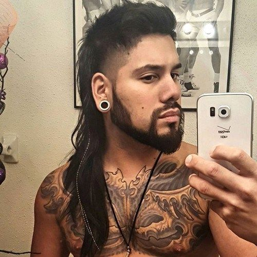 long mullet hair for men