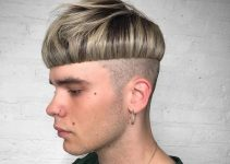 mushroom haircut for men