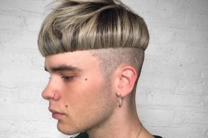 mushroom haircut for men