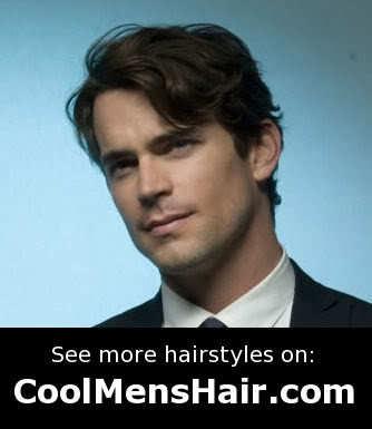Matt Bomer (Neal Caffrey) hairstyle