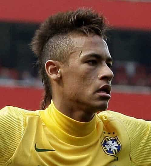Picture of Neymar hair.