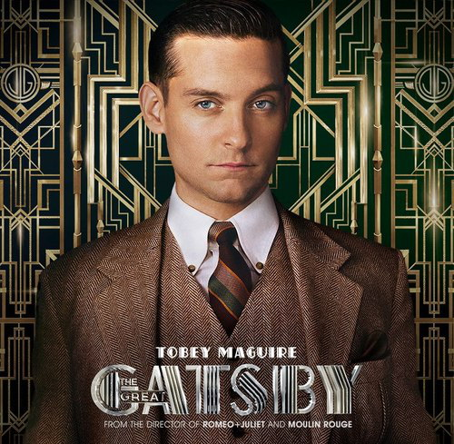Tobey Maguire Great Gatsby Hair