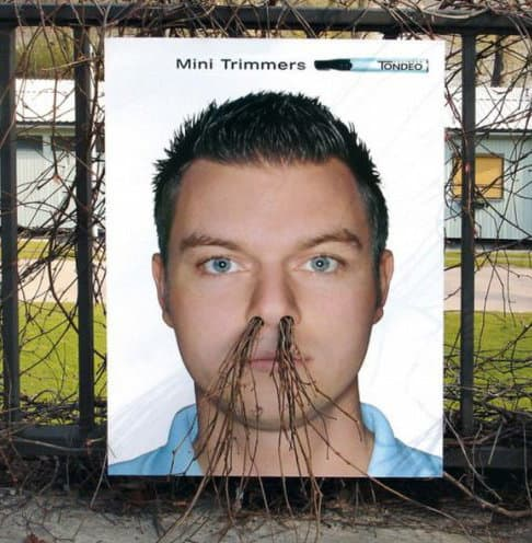 Photo of nose hair trimmer.