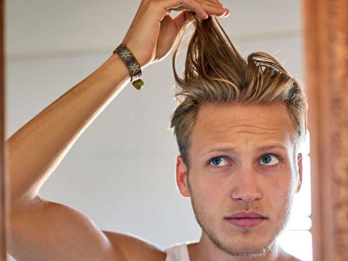 oily hair treatment for guys