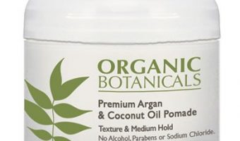 Review of Organic Botanicals Premium Argan and Coconut Oil Hair Pomade