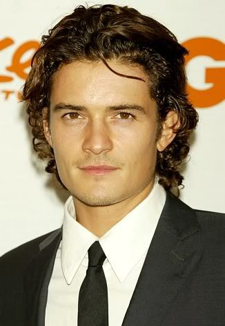 Cool men's hairstyle from Orlando Bloom