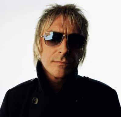 Photo of Paul Weller hairstyle.