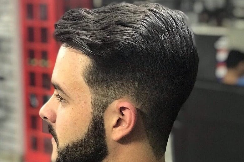 How to Style Pompadour Comb Over