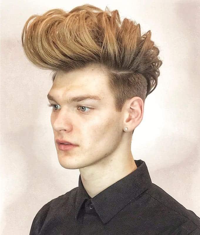 pompadour haircut for boys