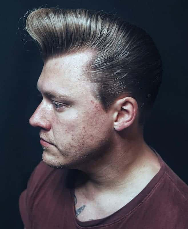 waved pompadour hairstyles