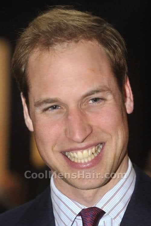 Photo of Prince William Hairstyle.