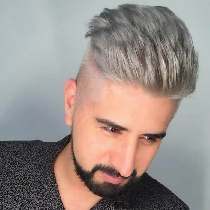 professional hairstyle with faux hawk
