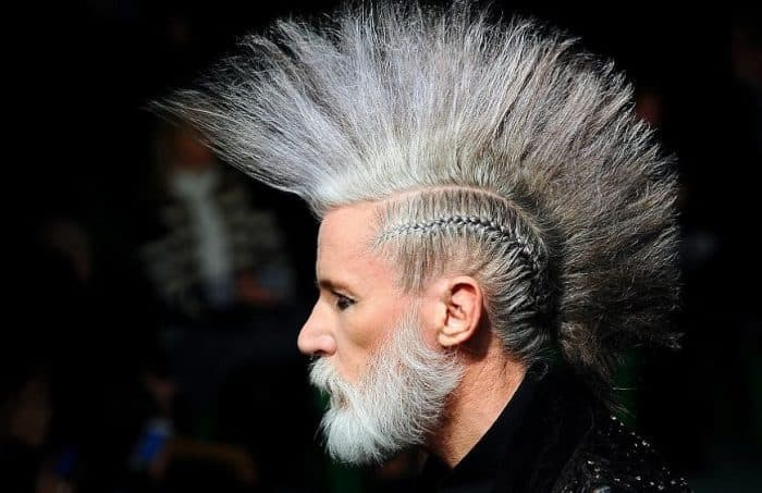 men punk hairstyles