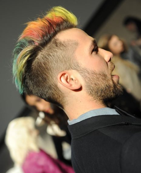 20 Sexiest Guys With Colored Hair Men S Hair Color Ideas 2019
