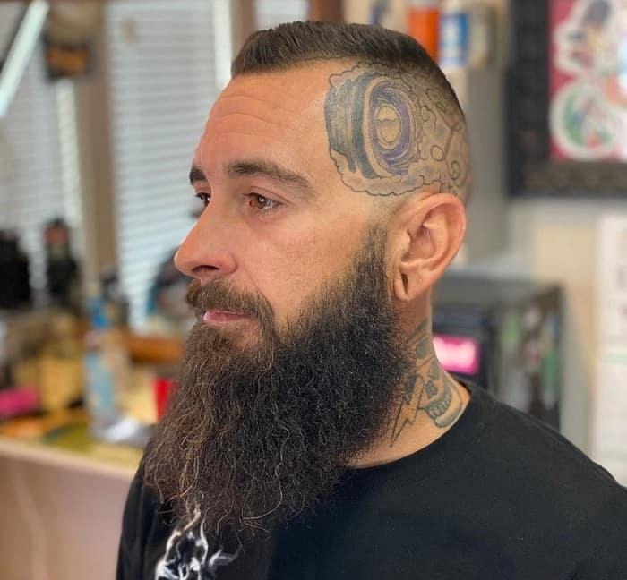 Razor Fade With Beard