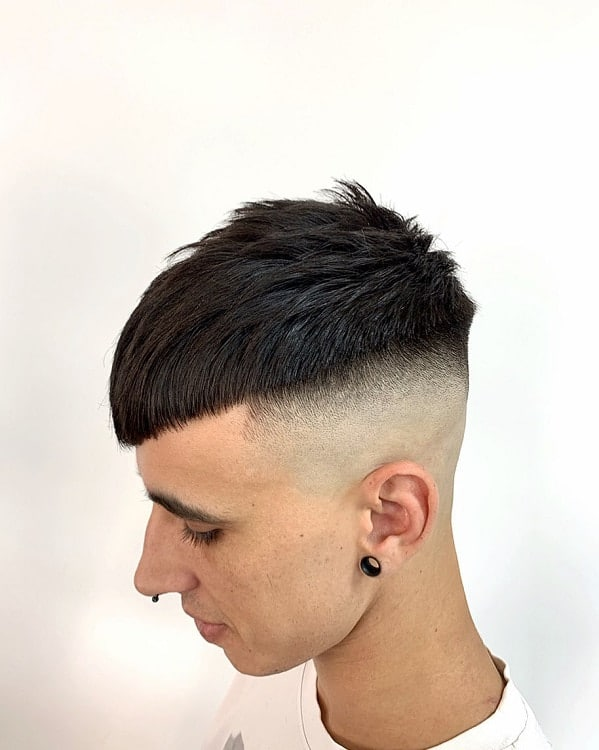 Razor Faded Short Hair