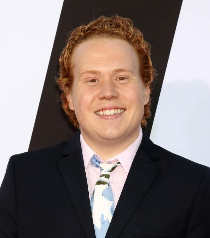 red curly haired actor - Jimmy Bellinger