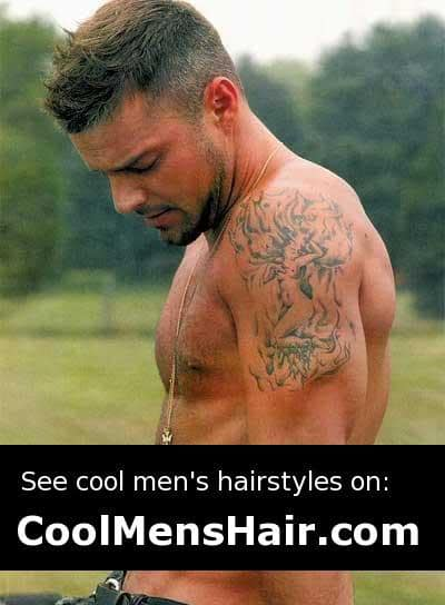 Ricky Martin Hairstyles Cool Men S Hair