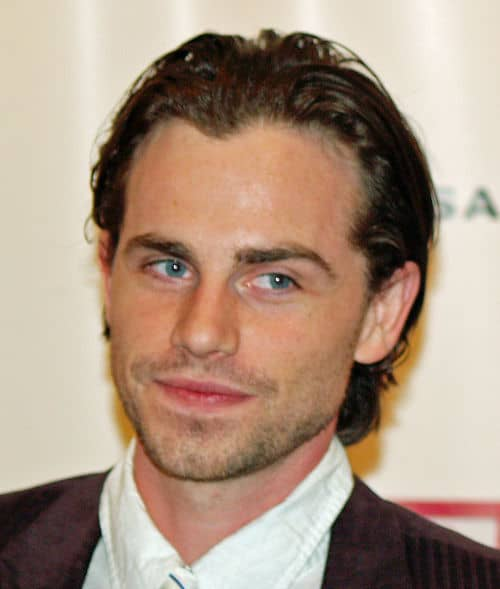 Photo of Rider Strong hairstyle.