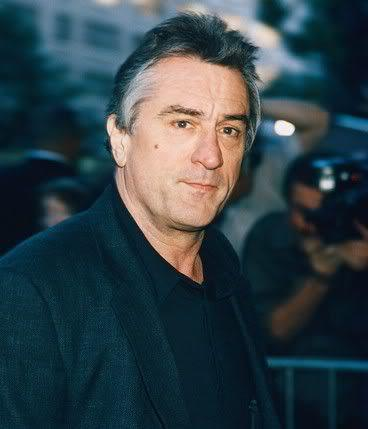 Picture of Robert De Niro hairstyle.