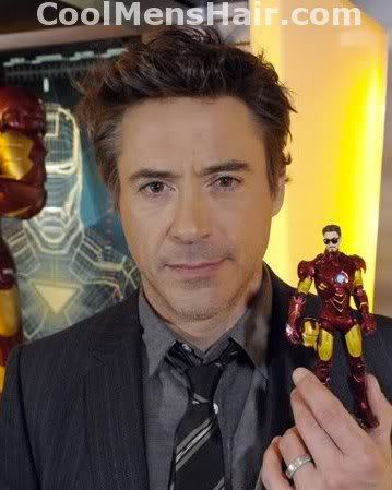 Photo of Robert Downey Jr. hairstyle