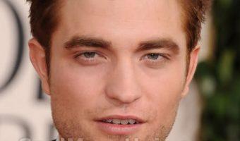 Robert Pattinson With Short Hair