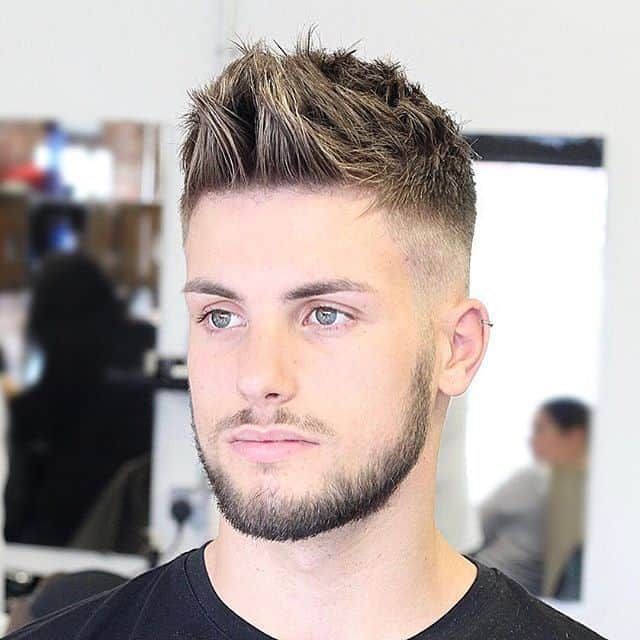 rockabilly spiky hairstyle for men