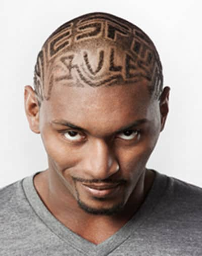 Photo of Ron Artest hair: ESPN Rules.