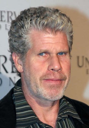 Photo of Ron Perlman hairstyle.
