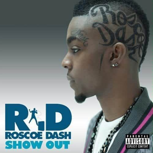 Picture of Roscoe Dash Mohawk hairstyle.