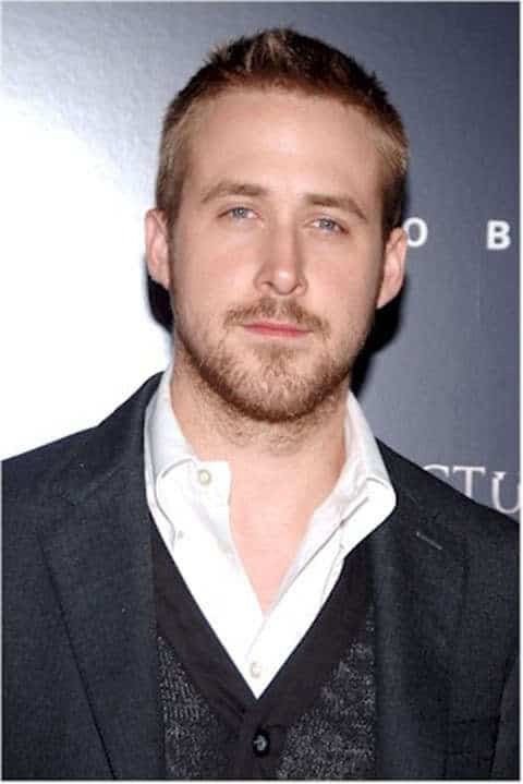Ryan Gosling buzz cut hairstyle