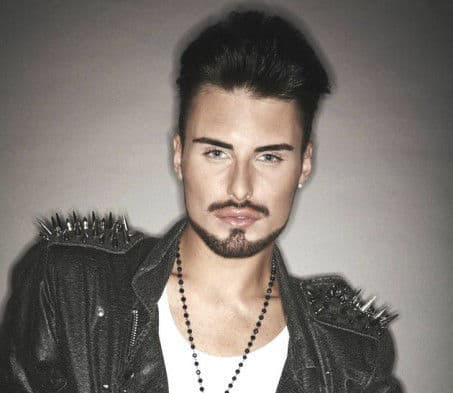 Picture of Rylan Clark hairstyle.