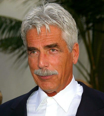 Photo of Sam Elliott short hair.