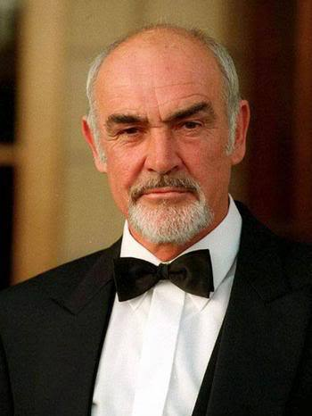Picture of Sean Connery beards style.