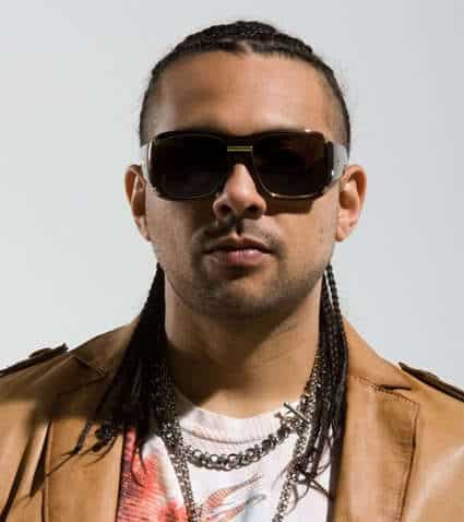 Cool cornrows hairstyle from Sean Paul.