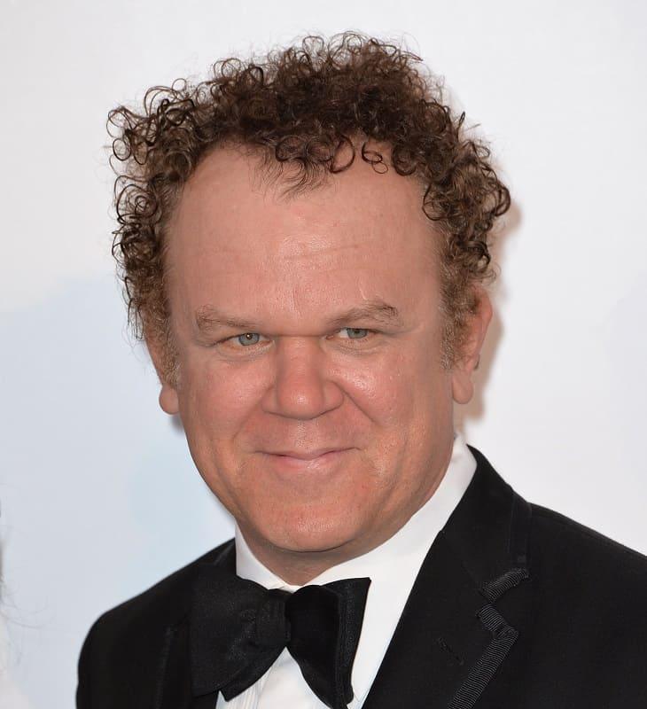 senior actor with curly hair - John C. Reilly