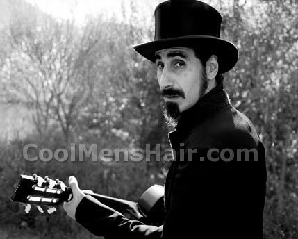 Photo of Serj Tankian with facial hair.