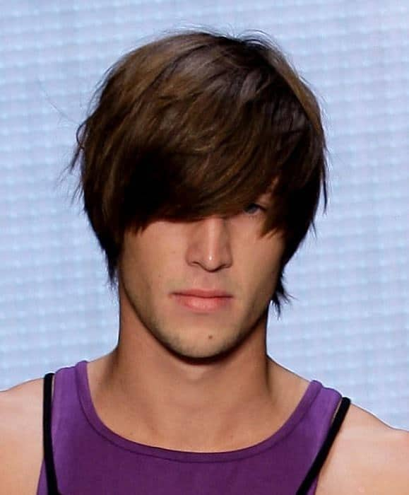 Shaggy hair for men