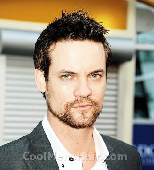 Photo of Shane West hairstyle.
