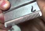 sharpen hair clipper blade