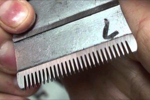 sharpen hair clipper blade