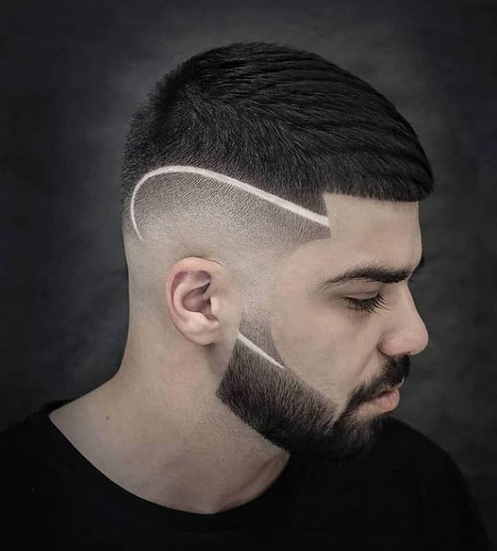 30 Hottest Side Shaved Long Top Haircuts for Men - Cool Men's Hair
