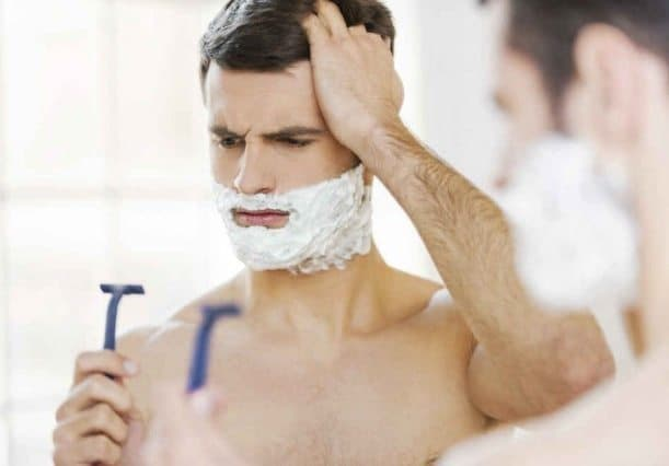 Avoid Shaving in the opposite Direction of beard growth