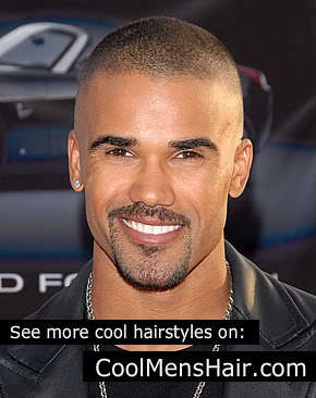 Shemar Moore's taper tade haircut