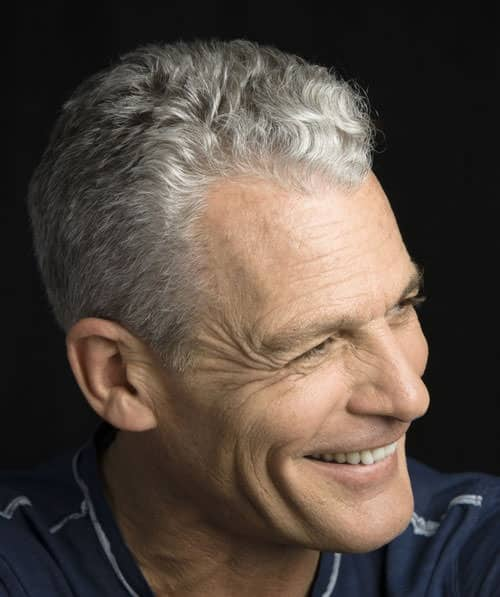 short curly hairstyles for men over 50