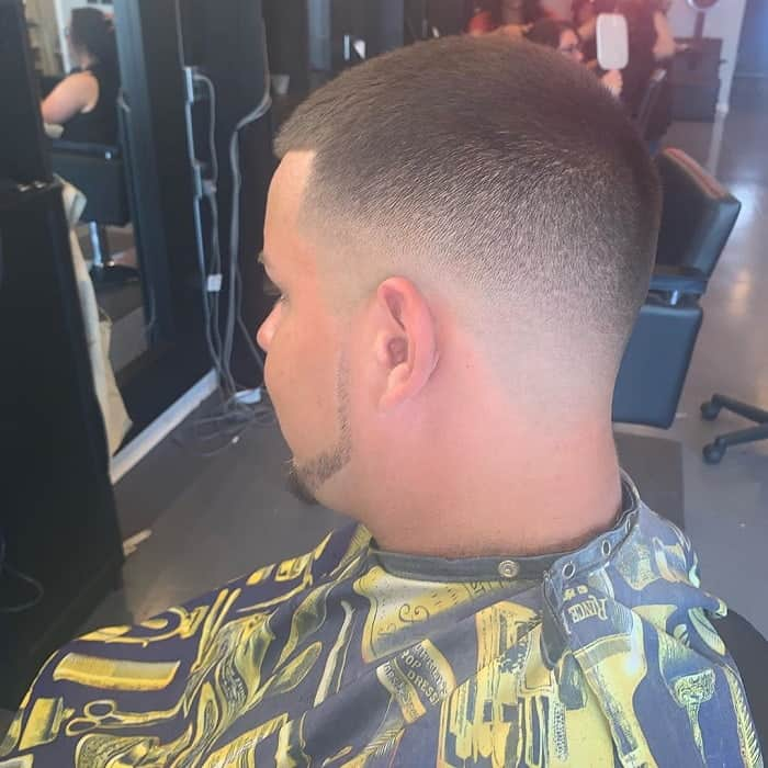 short hairstyles with fade for men