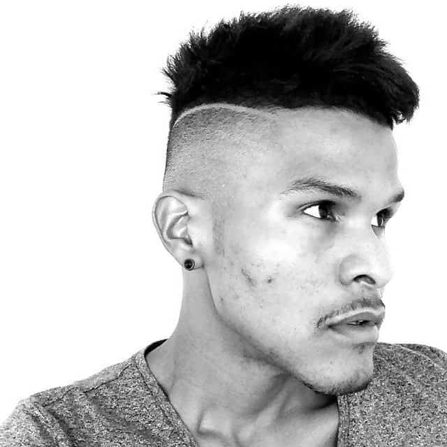 short faux hawk hairstyles