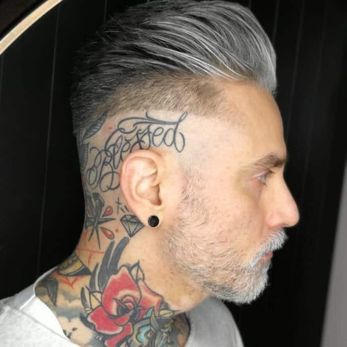 short undercut hairstyle for men