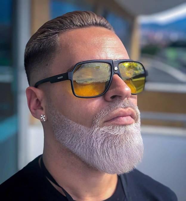 short comb over haircut for older men